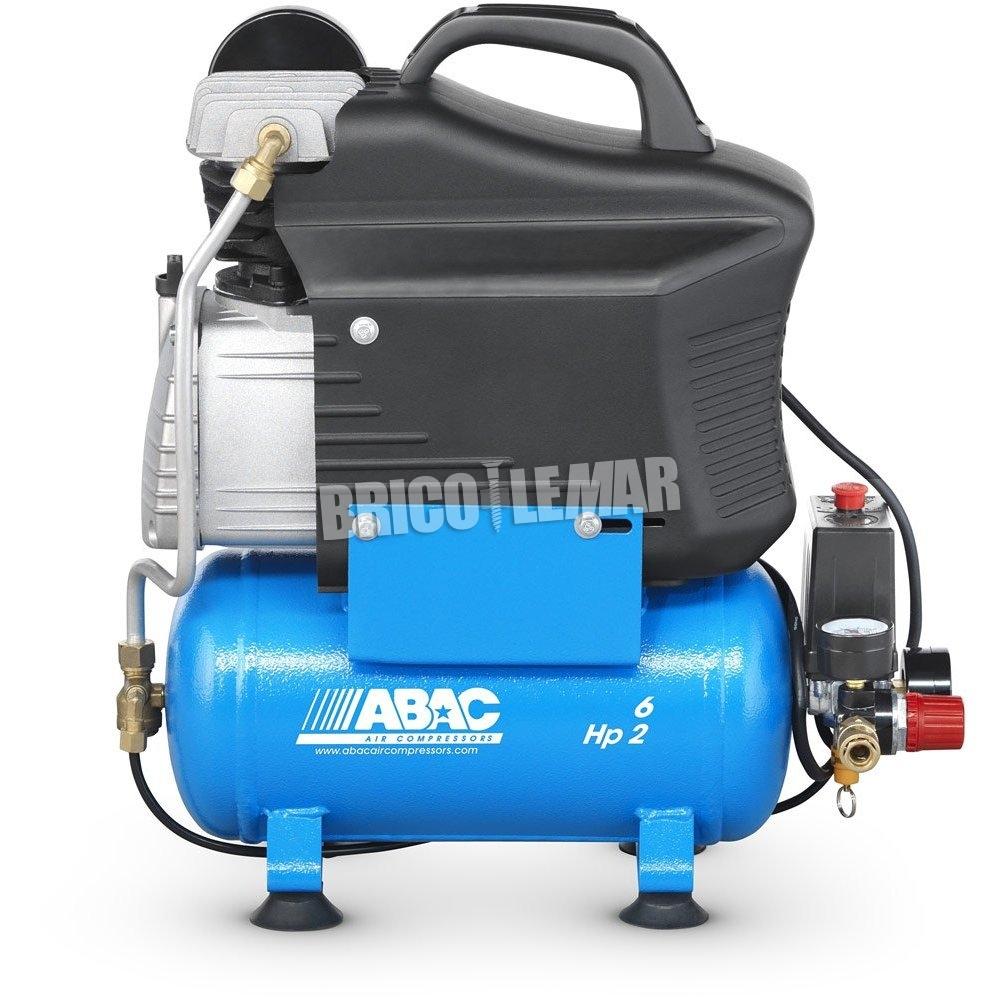 Compresor abac start o20p 2cv 6 litros comprar al mejor - Compresor 6 litros ...