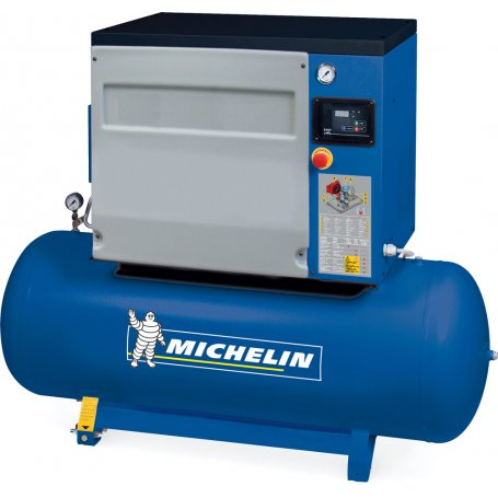 Compresor de tornillo encapsulado Michelin CA-RSX10/300 10HP con caldera 270L