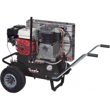 Compresor a gasolina 5,5HP 11+11L Cevik Agri65