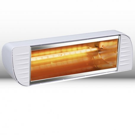 Calefactor halógeno infrarrojo 2000W modelo Master blanco Infracalor