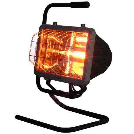 Calefactor halógeno infrarrojo de suelo 1300W Waterproof Infracalor