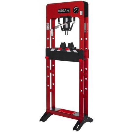 Prensa hidráulica de taller monoblock 20T Mega PRB20