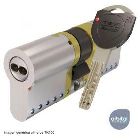 Tesa Tk100 40x40 Niquel Cilindro Leva 15 mm