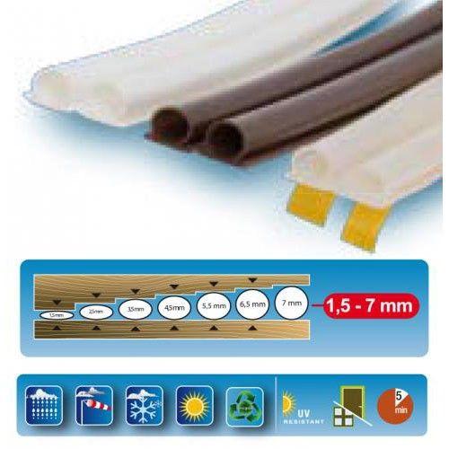 Burlete adhesivo termoplastico puertas ventanas for Perchas adhesivas para puertas