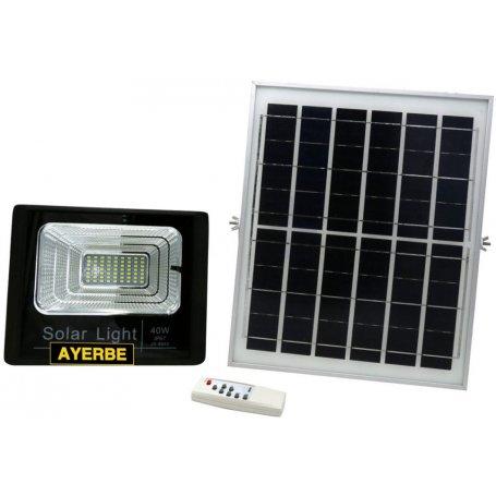 Foco solar 40W 64 LEDS con mando