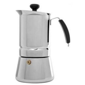 Cafetera Oroley Arges 4 tazas Acero Inoxidable