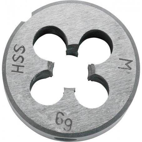 Terraja de roscar hss redonda paso 1.5mm øm10 kwb