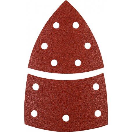 Disco abrasivos triangulo 100x63x93mm (5 und) grano 120 kwb