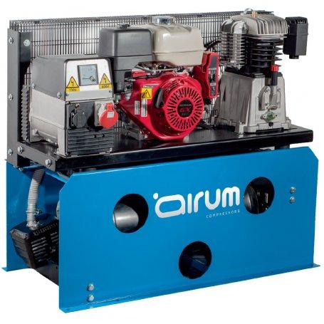 Compresor de gasolina con generador NB7/13G/50 Honda 50Lts 13HP 15bar 7Kwa