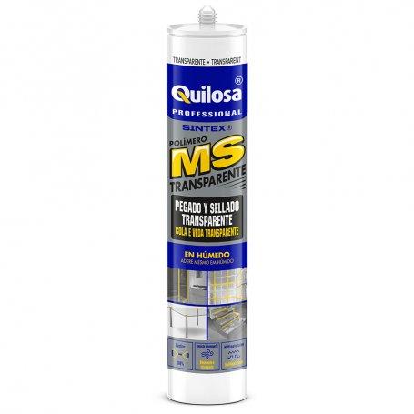 Adhesivo ms instant polimero transparente 280ml quilosa