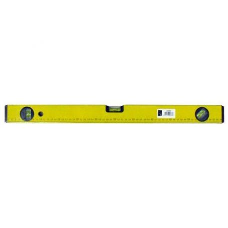 Nivel aluminio amarillo 50cm Vola