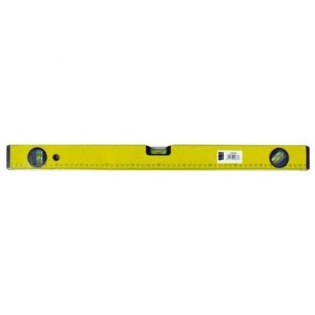 Nivel aluminio amarillo 80cm Vola