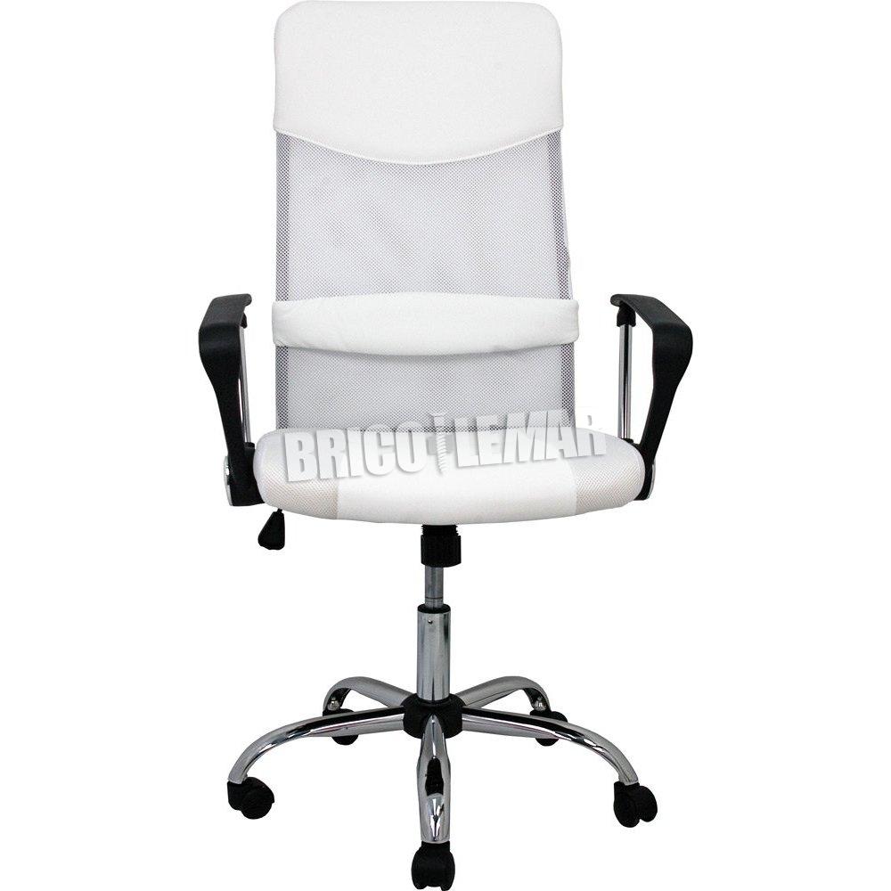 Silla de oficina blanca Dafne Furniture Style