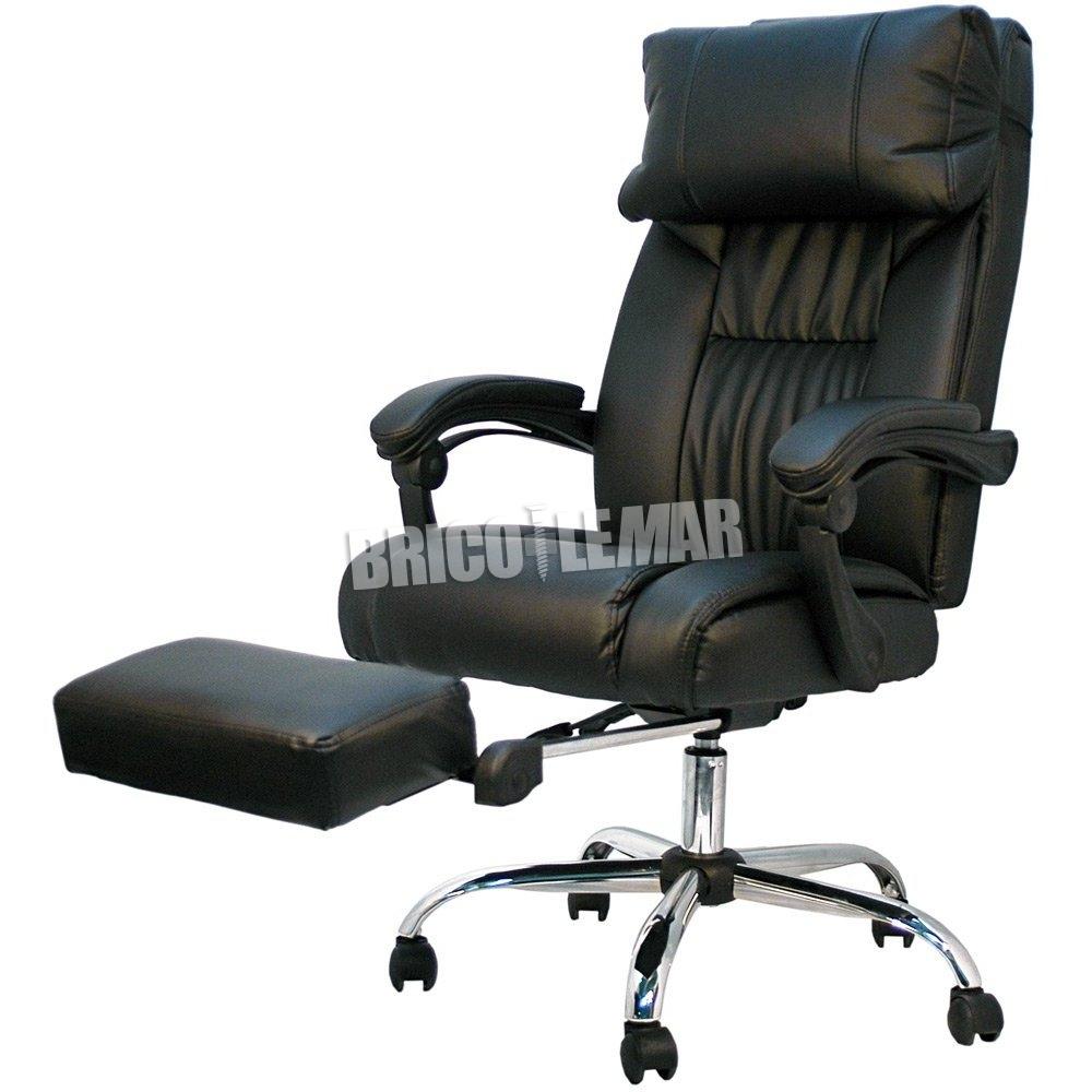 Silla de oficina negro Samanta Furniture Style