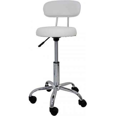 Taburete de trabajo blanco Technical Furniture Style