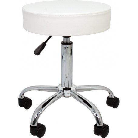 Taburete de trabajo blanco Professional Furniture Style