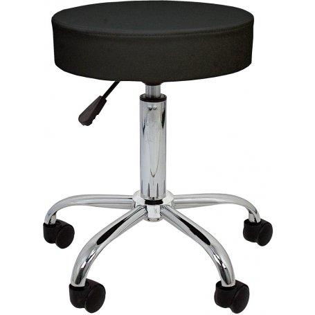 Taburete de trabajo negro Professional Furniture Style