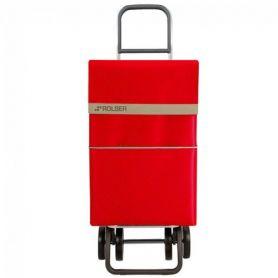 Carro de Compra Rolser 2500 Nylon Antracita Rojo Dos+2
