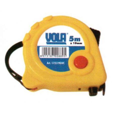 Flexometro PVC triple stop 3mx23mm Vola