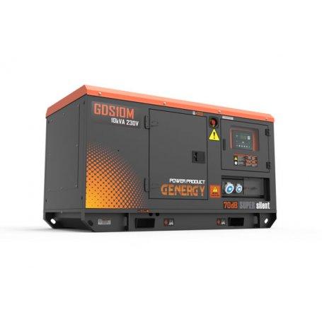 Grupo electrógeno diésel silencioso GDS10M-10KVA 8KW 230V Genergy