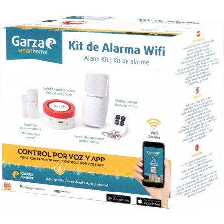 Kit de seguridad inteligente Wifi Garza Smarthome