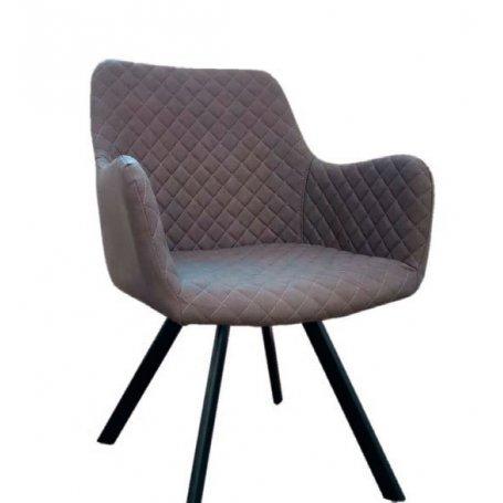 Sillón de comedor Bibiana gris cuarzo Furniture Style