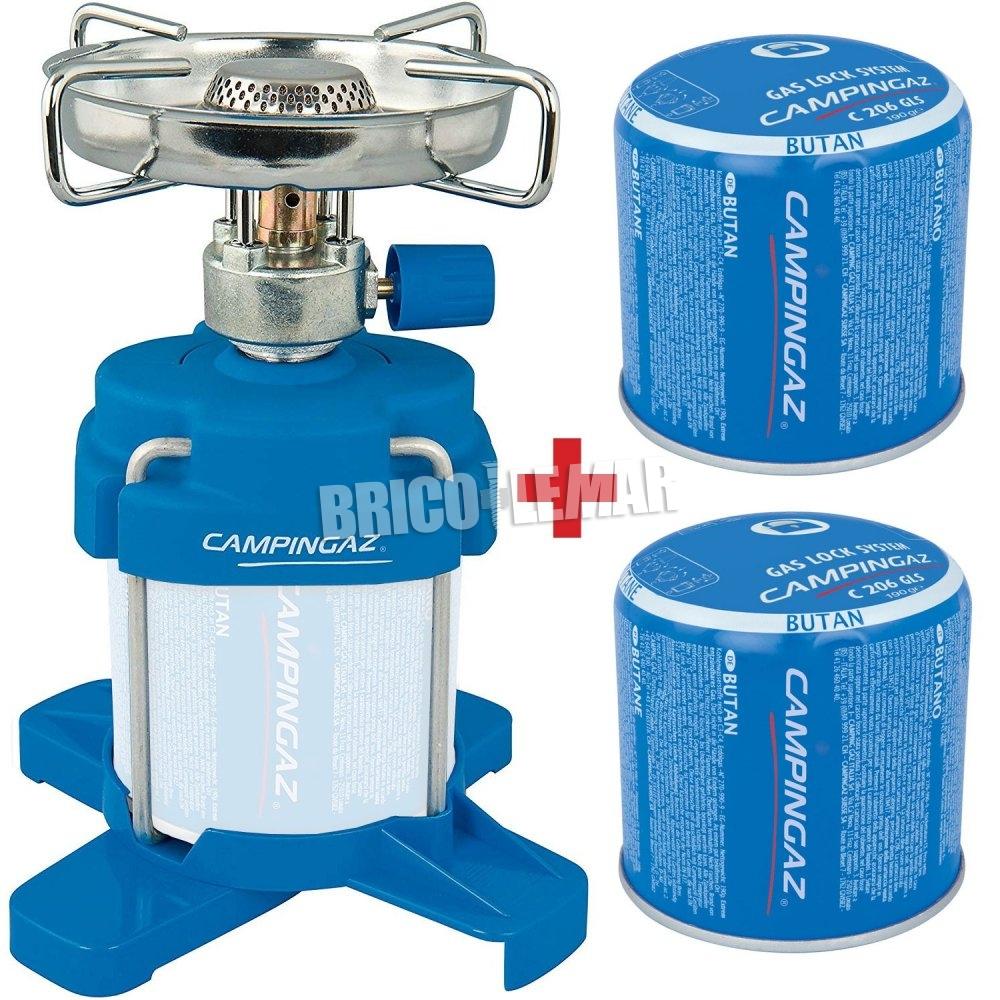 CAMPINGAZ C206 GLS Pi Cartridge Butane and Propane Mix GAZC206GLS
