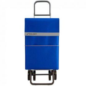 Carro de Compra Rolser 2500 Nylon Antracita Azul Dos+2