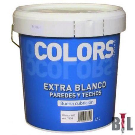 PINTURA PLASTICA EXTRA BLANCO (13 LT) INTERIOR MATE MATERIS