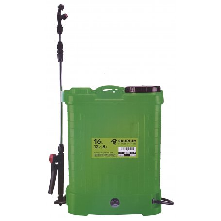 Pulverizador de presión a Batería de 16L 12V 8Amp Saurium