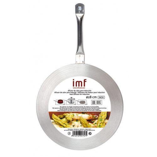 Difusor calor para inducci n 28cm imf comprar al mejor precio for Cocina induccion precio