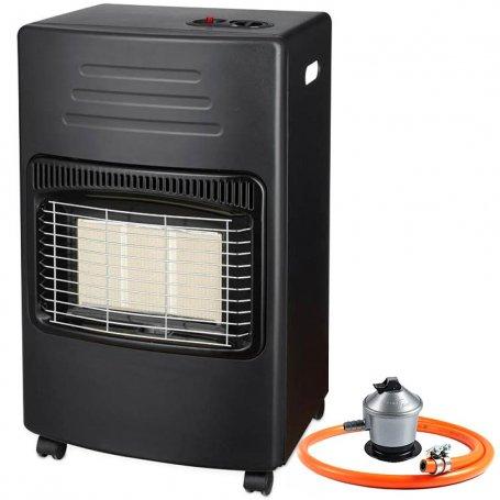 Estufa de gas infrarrojos 4200W GSC Evolution + regulador + manguera