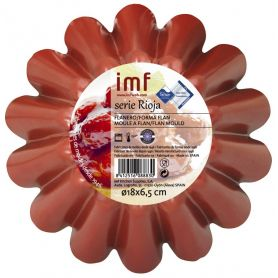 Flanero rizado 18cm Rioja IMF