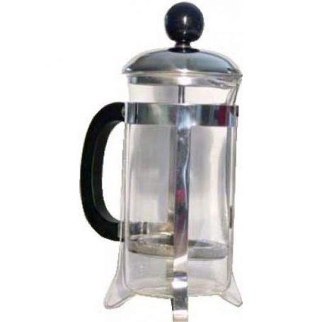 Cafetera de Embolo 6 Tazas Sanfor