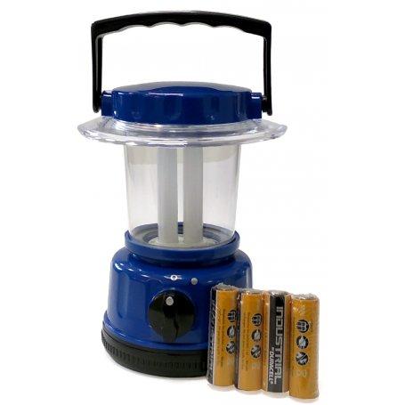 Linterna Camping Mini fluorescente 5W DH + 4 pilas AA
