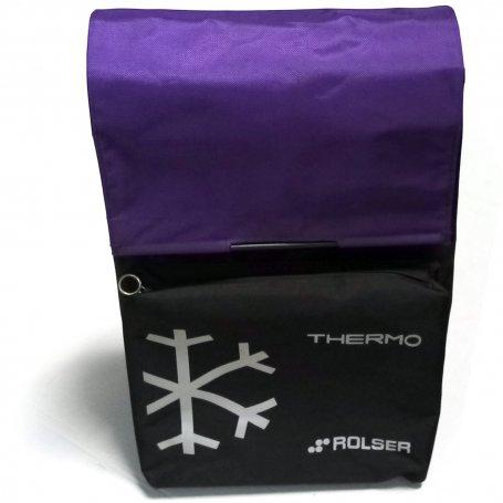 Bolsa de repuesto para carro de la compra modelos Termo Fresh MF negro-malva Rolser