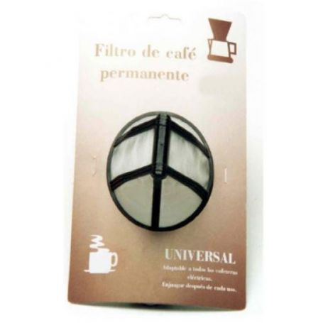 Filtro cafetera permanente universal 1x2 Sanfor