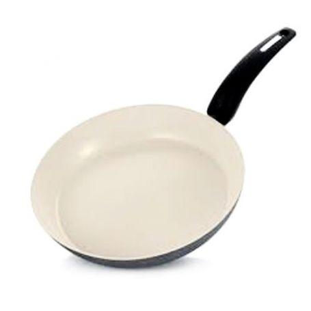 Sarten ceramico blanco 28cm Sanfor