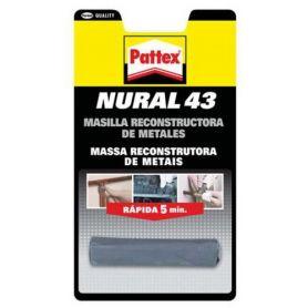 Pattex Nural 43 Masilla para Reconstruir Metales