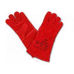 Guante soldador rojo GU01-8001 (1 par) Cipisa