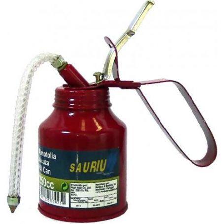 Alcuza metálica cuello flexible 1/4 litro Mader