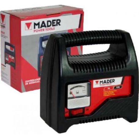 Cargador de batería MOPT 6A 12V Mader