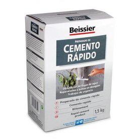 Cemento rápido1,5Kg Beissier