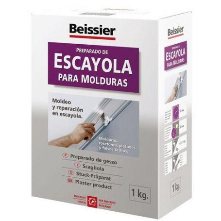 Escayola para moldeo 1Kg Beissier
