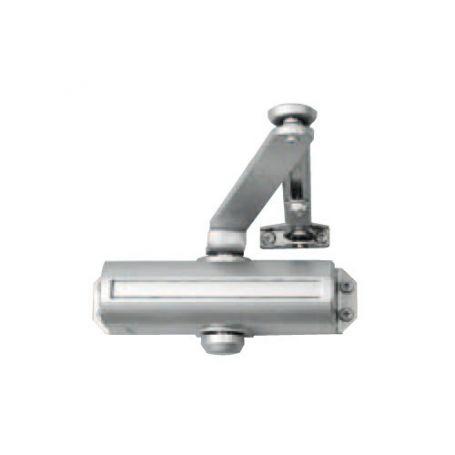 Cierrapuertas COMPACTFLEXI estándard acabado plata
