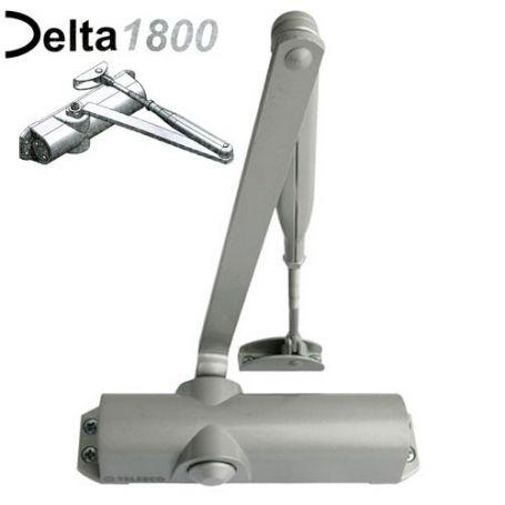 Cierrapuertas con retenedor regulable DELTA 1800 Telesco