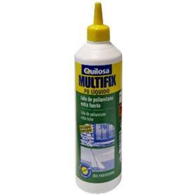 Multifix PU líquido poliuretano adhesivo biberón 500gr Quilosa
