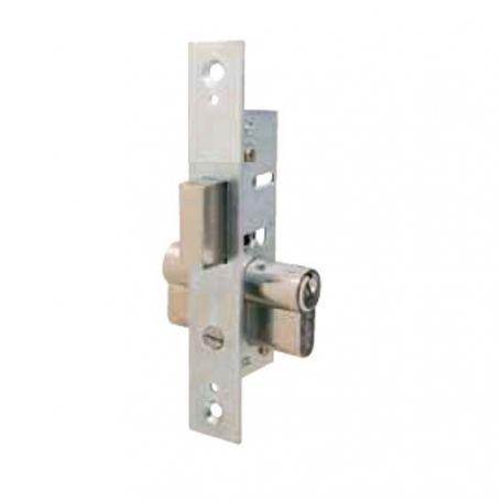 Cerradura Tesa 2201 13,5mm embutir metálica palanca deslizante zincado
