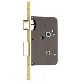 Picaporte condena reversible Yale Azbe 651 80mm latonado (juego de 2 unidades)