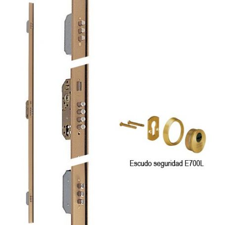 Cerradura Tesa 3 puntos precio embutir CANB3 45mm izquierda T60